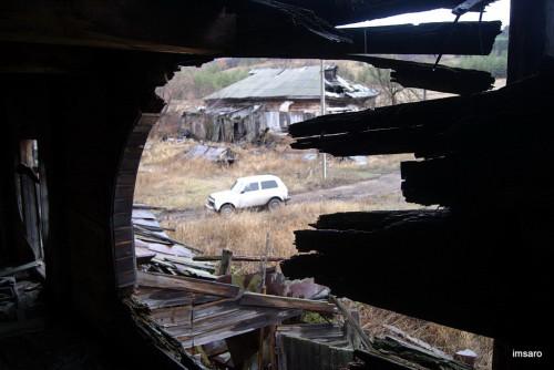 Внутри. Деревянная мельница. Махино. Саратовский район. Саратовская область.