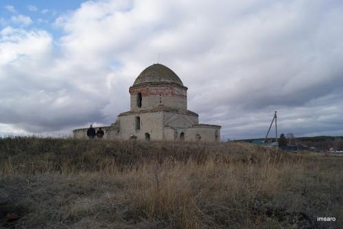 Иоанно-Предтеченская церковь. Старая Бахметьевка. Лысые горы. Саратовская область.
