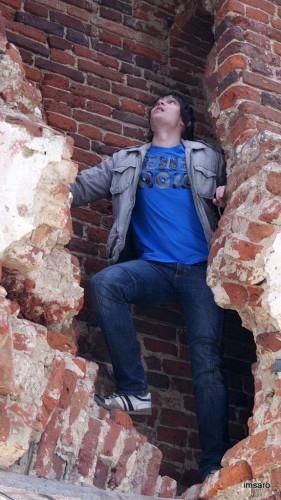Лестница на колокольню. Храм Иоанна Златоуста. Ивановка. Базарно-Карабулакский район. Саратовская область.