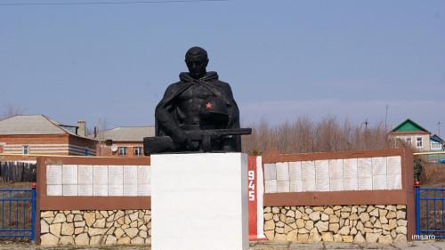 Памятник. Вязовка. Базарно-Карабулакский район. Саратовская область.