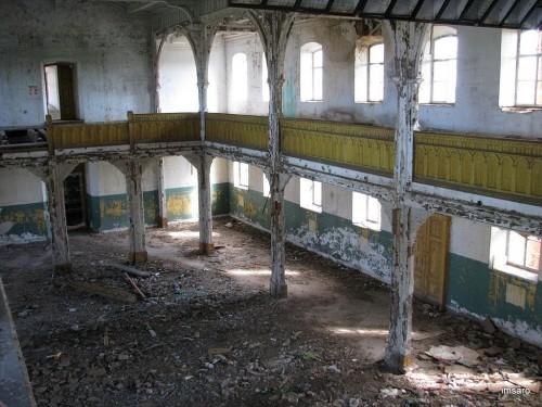 Внутри. Лютеранская церковь. Подстепное. Энгельсский район. Саратовская область.