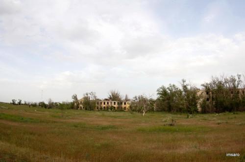 Житкур или иной покинутый город. Астраханская или Волгоградская область.