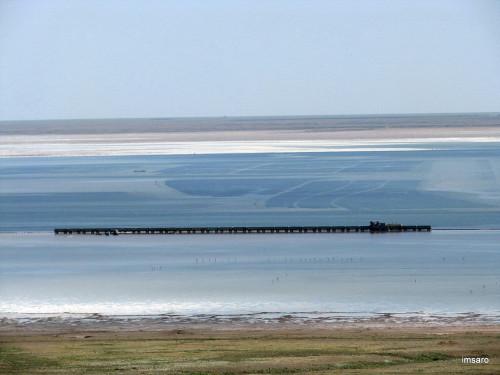 Озеро Баскунчак. Богдинско-Баскунчакский заповедник. Ахтубинский район. Астраханская область.